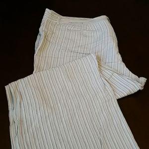 Lane Bryant linen pants